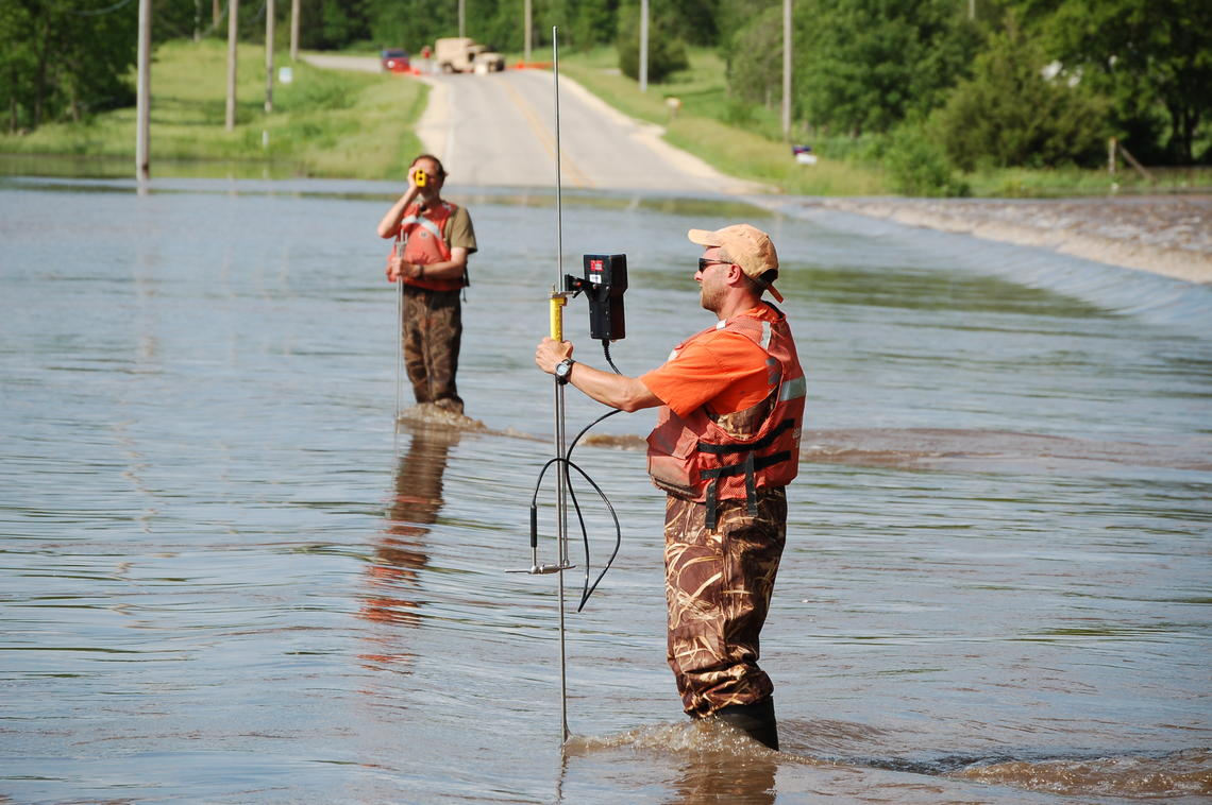 Image: Flood Monitoring, Waverly, IA
