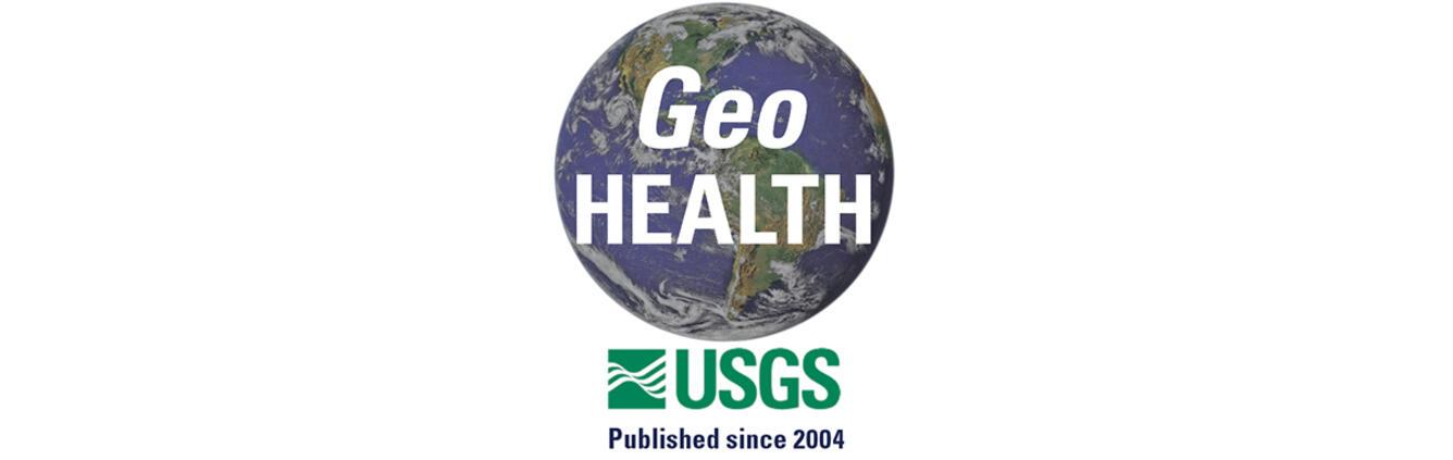 USGS GeoHEALTH logo with globe