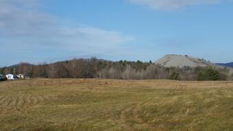 gravel pile near field